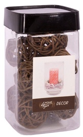 Home4you Decorative Rattan Balls Brown