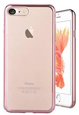 Devia Glimmer Back Case For Apple iPhone 7 Plus/8 Plus Rose Gold