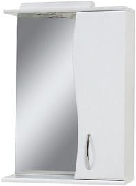 Шкаф для ванной Sanservis Z-50 XB Standart with Mirror White 50.2x73.5x17.5cm