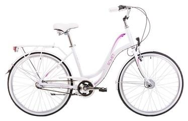 """Jalgratas Romet Pop Art 19"""" 26"""" White 19"""