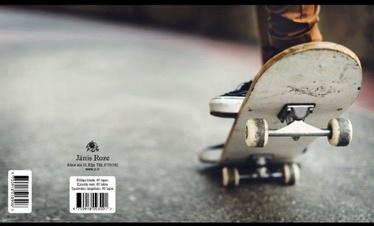 Jānis Roze Notebook JR9 60 Pages Skateboard