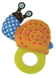 Oops Teething Toy Snail Colorful