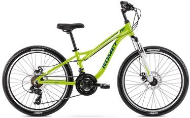 """Laste jalgratas Romet Rambler Fit 2124623, sinine/roheline, 24"""""""
