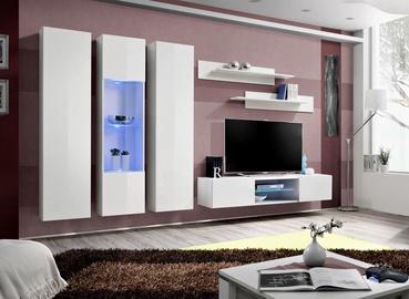 ASM Fly P5 Living Room Wall Unit Set White