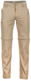 Marmot Transcend Convertible Pants 38 Reg Desert Khaki