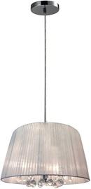 Verners Dilema Ceiling Lamp 3x40W E14 Chrome/White