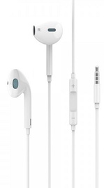 Usams EP-22 Capsule Shape Universal In-Ear Headset 1.2m White