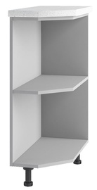 DSV Imperia STU 300 Kitchen Bottom Corner Cabinet Gray