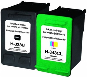 Uprint Cartridge for HP Black 25ml Magenta Cyan Yellow 21ml