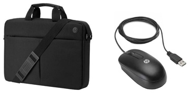 "HP Prelude Notebook Bag 15.6"" + Mouse Black"