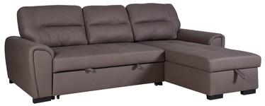 Угловой диван Home4you Almira UC 42801 Taupe, 251 x 162 x 93 см