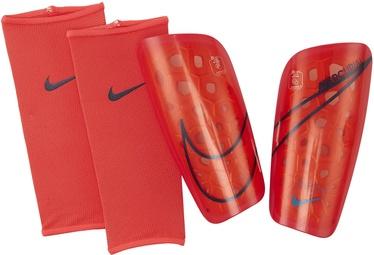 Nike Mercurial Lite Shin Guards SP2120 644 Red Black XL