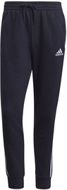 Adidas Essentials French Terry Tapered Cuff 3-Stripes Joggers GK8888 Navy M