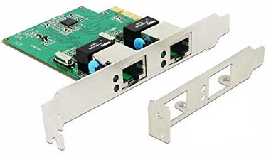 Delock 89999 2x Gigabit LAN Adapter
