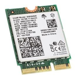 Intel Dual-Band Wireless-AC 9560 WLAN + Bluetooth 5.0 Adapter M.2