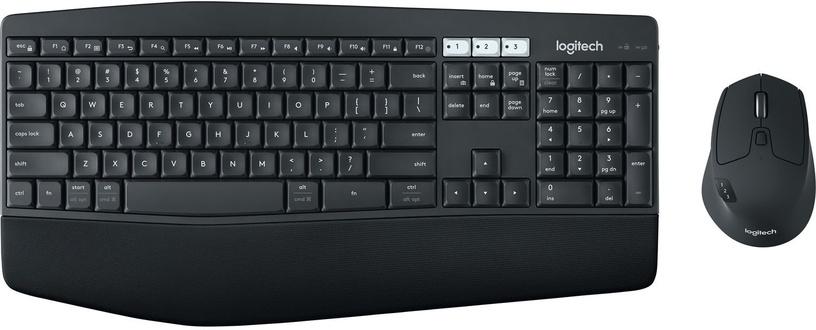 Logitech MK850 Performance Wireless Keyboard And Mouse Combo RUS Black