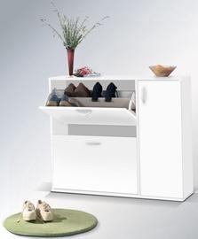 Шкаф для обуви Maridex DRZWI White, 860x270x1020 мм