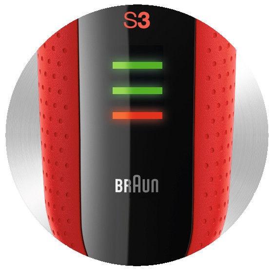 Braun Series 3 3030 Black/Red