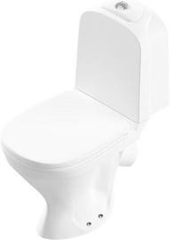 WC-pott SANITA Lux Classic Duroplast Soft Close White, 345x590 mm