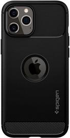 Spigen Rugged Armor Back Case For Apple iPhone 12 Pro Max Matte Black