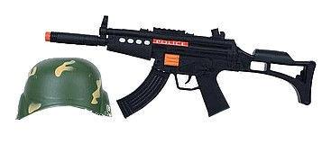 Tommy Toys Machine Gun & Helmet 481657