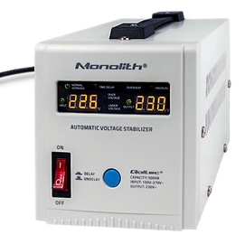 Qoltec Automatic Voltage Stabilizer AVR 500VA