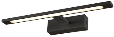 Light Prestige Isla Medium Wall Lamp 12W LED Black