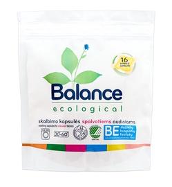 Ringuva Balance Ecolocial Capsules For Coloured Fabrics 16pcs