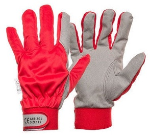DD Synthetic Leather Gloves With Clip 11