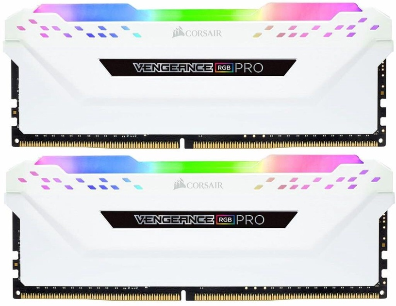 Vengeance RGB Pro White 16GB 3000MHz CL15 DDR4 KIT OF 2 CMW16GX4M2C3000C15W