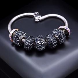 Diamond Sky Bracelet Becharmed Pavé Mini VIII With Swarovski Beads