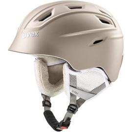 Uvex Fierce Ski Helmet Prosseco Metal Matt 55-58