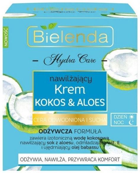 Bielenda Hydra Care Coconut & Aloe Face Cream For Dry Skin 50ml
