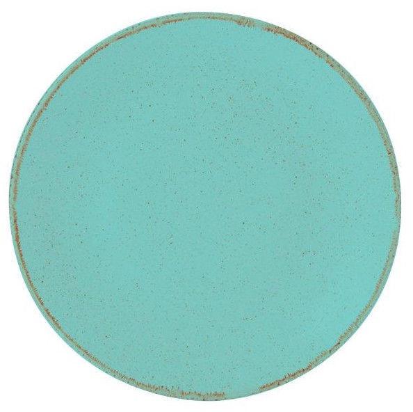 Porland Seasons Dinner Plate D18cm Turquoise