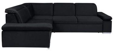 Угловой диван Black Red White Darby Black, 268 x 218 x 94 см