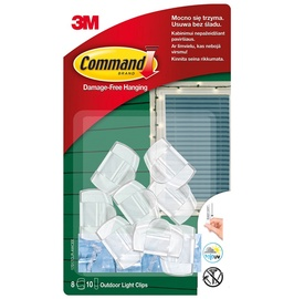 3M Command Outdoor Light Clips T17017AC