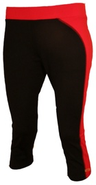 Bars Womens Trousers Black/Red 125 M
