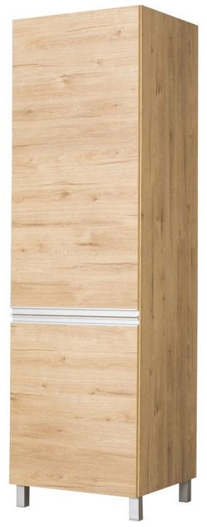 Кухонный шкаф Bodzio Monia High 60 Left Brown, 600x590x2070 мм
