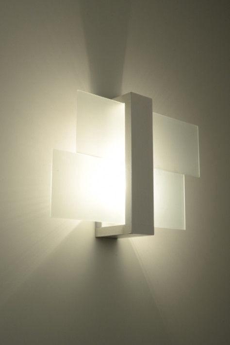 Sollux Feniks Wall Lamp 60W E27 White