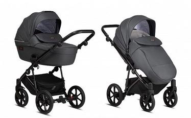 Tutis Stroller Viva Life 2in1 Leather Shadow Grey