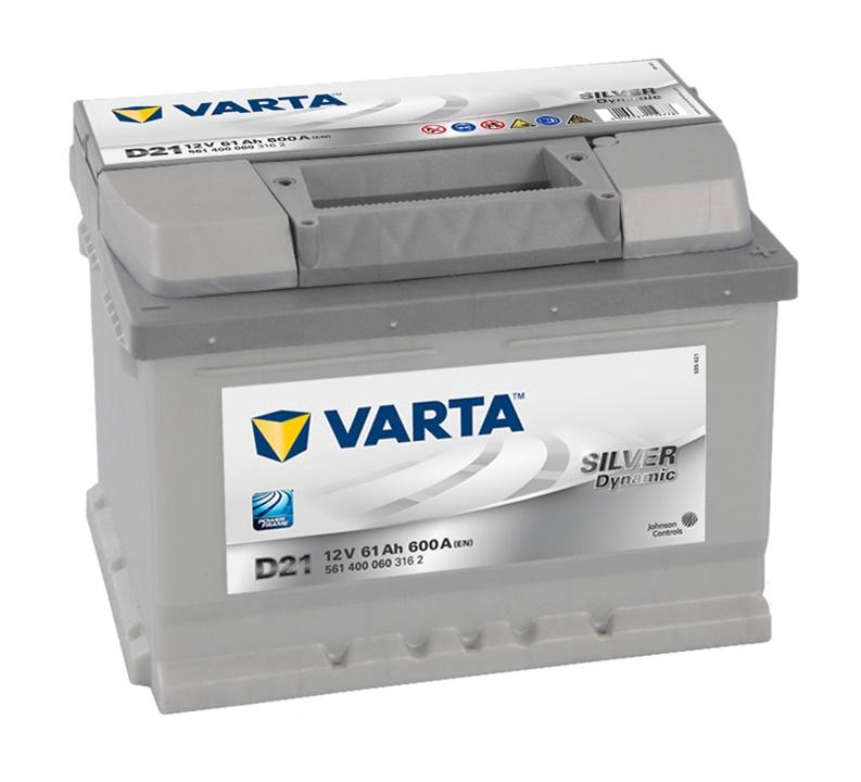 Autoaku Varta SD D21, 61 Ah, 600 A, 12 V