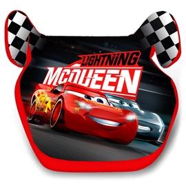 Автомобильное сиденье Disney Cars, 15-36 kg, черный/красный/многоцветный, 15 - 36 кг