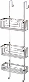 Gedy Hanging Shower Basket 3 Tier Chrome