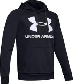 Under Armour Rival Fleece Logo Hoodie 1345628-001 Black XXL