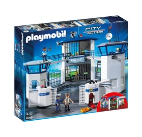 Playmobil City Action Police Headquarters With Prison 6919