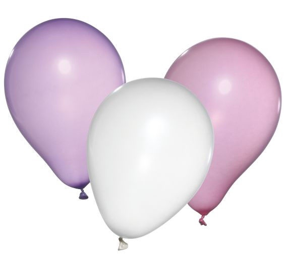 Susy Card Party Mother of Pearl Balloons 10pcs