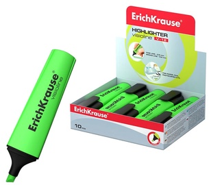 ErichKrause Visioline Highlighter V-12 10pcs Green