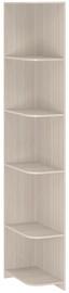 Borovichi Mebel Lotos 8.06 Corner Shelf Shimo Light