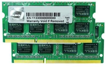 Operatiivmälu (RAM) G.SKILL F3-1600C11D-8GSL DDR3 8 GB