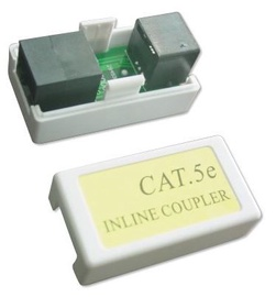 Gembird Coupler Cat 5E LAN White